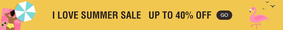I Love Summer Sale UP TO 40% off