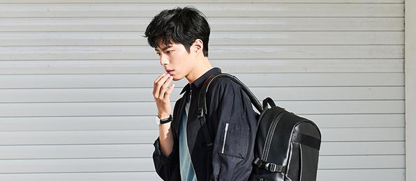 만다리나덕 박보검 여행백팩 제안전