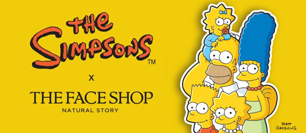 THE Siimpsons X THE FACE SHOP