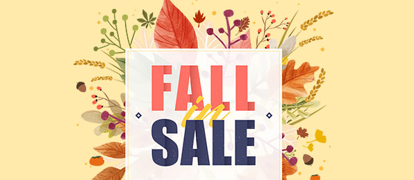 FALL IN SALE