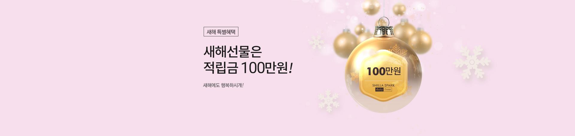 새해선물 100만원